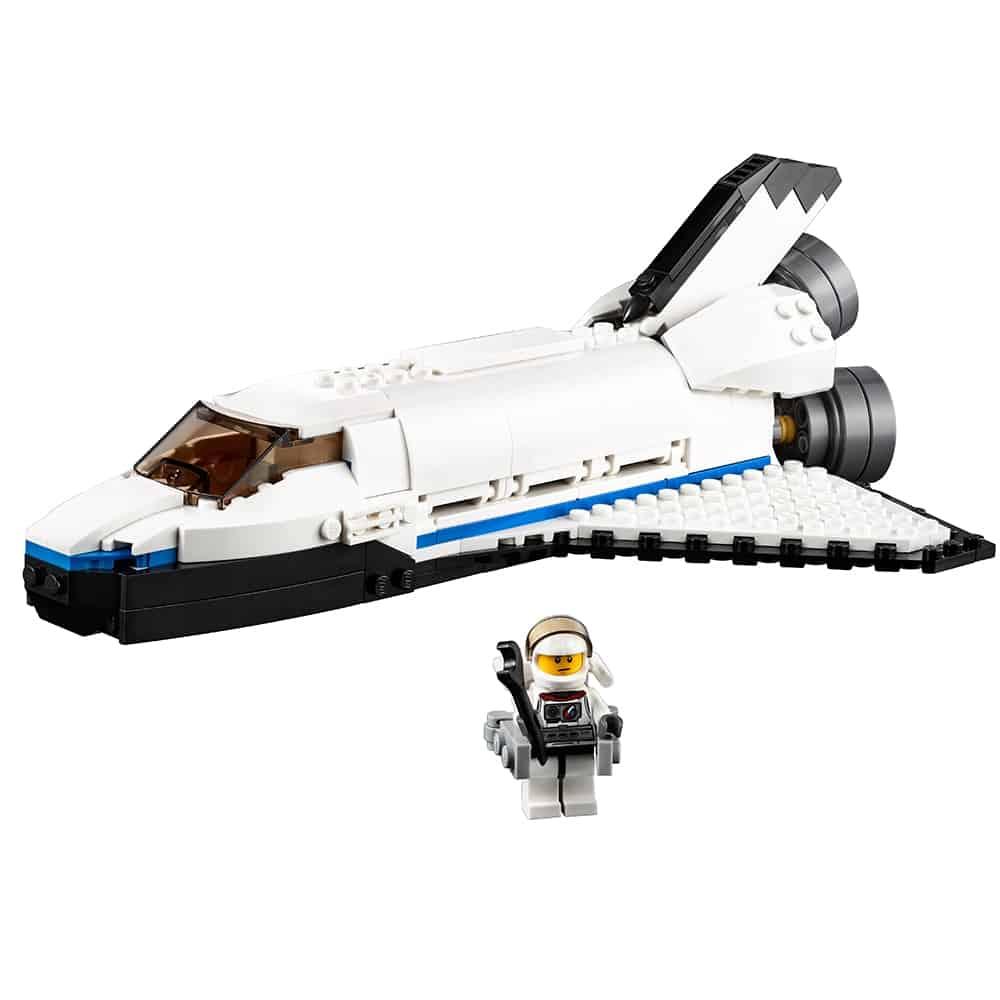 lego spaceshuttle verkenner 31066