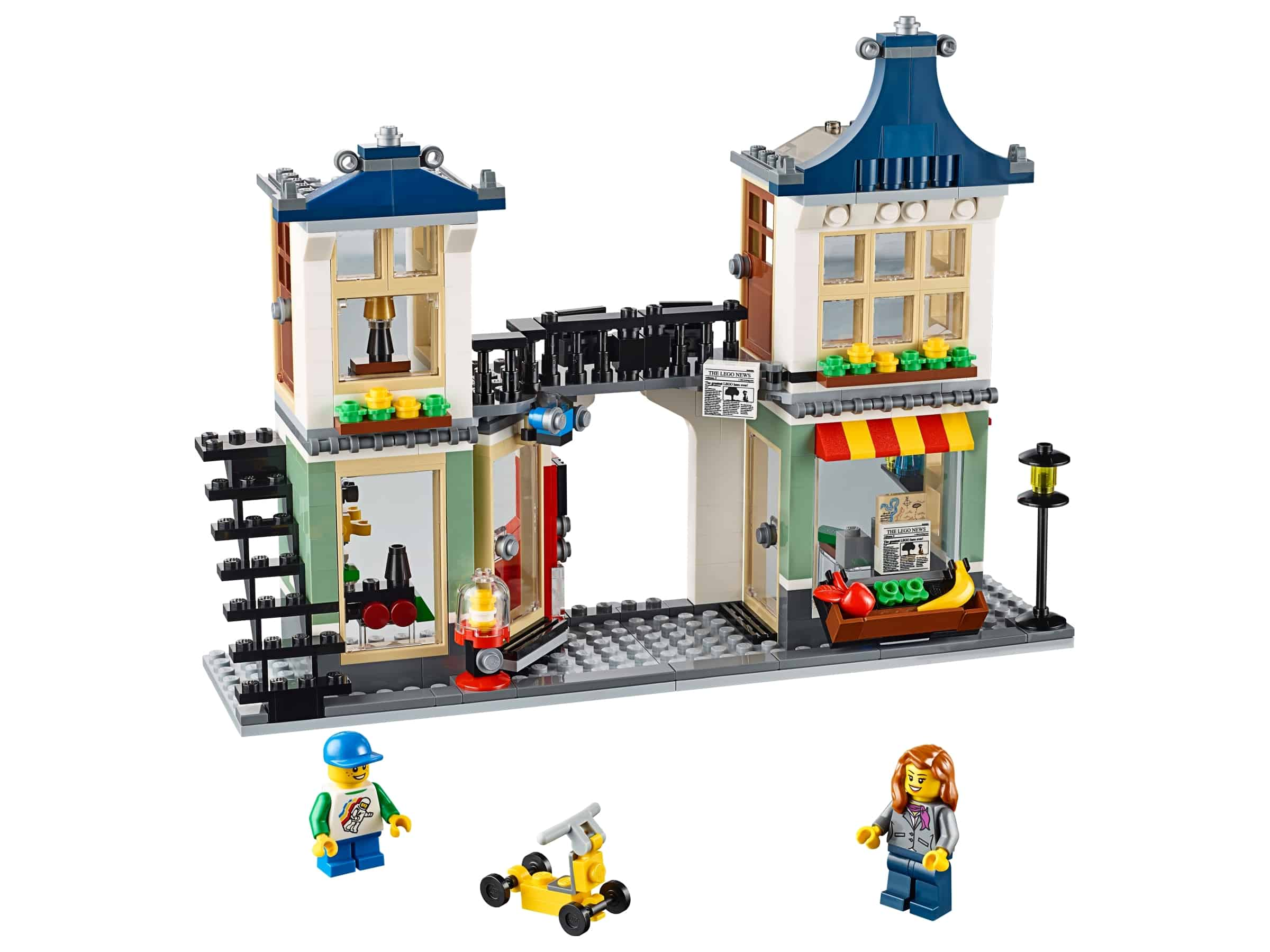 lego speelgoedwinkel en supermarkt 31036