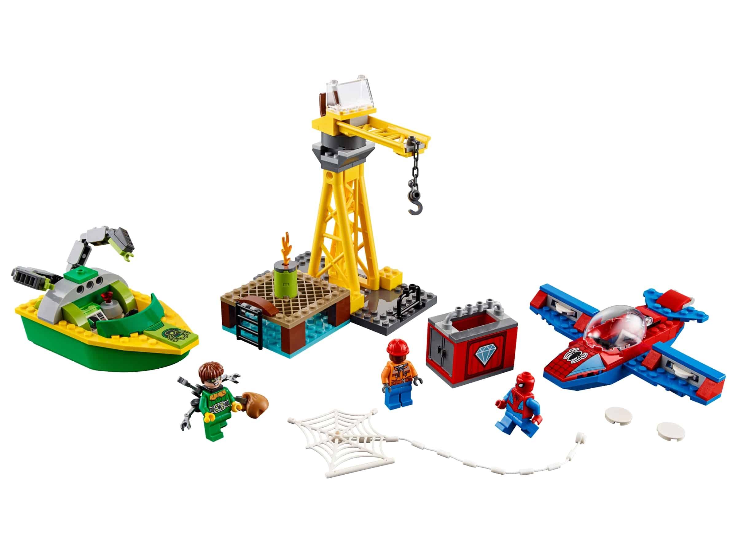 lego spider man doc ock diamantroof 76134