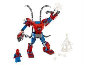 lego spider man mecha 76146