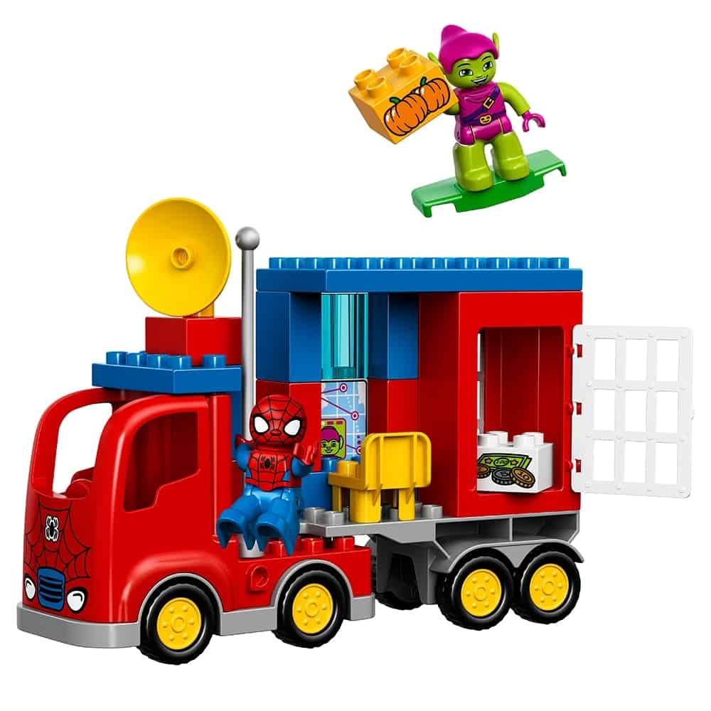lego spider man spider truck avontuur 10608