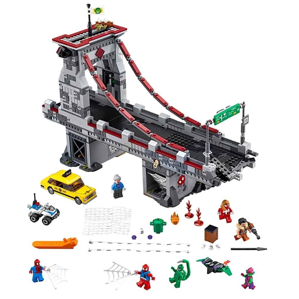 lego spider man web warriors ultiem brugduel 76057