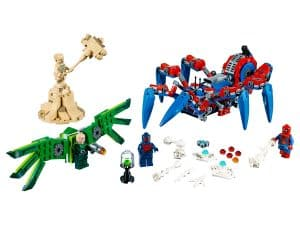 lego spider mans spidercrawler 76114