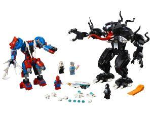 lego spider mecha vs venom 76115
