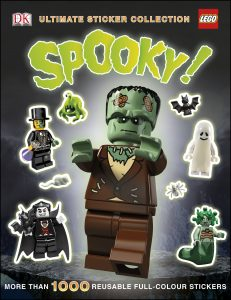 lego spooky ultimate sticker collection 5005664