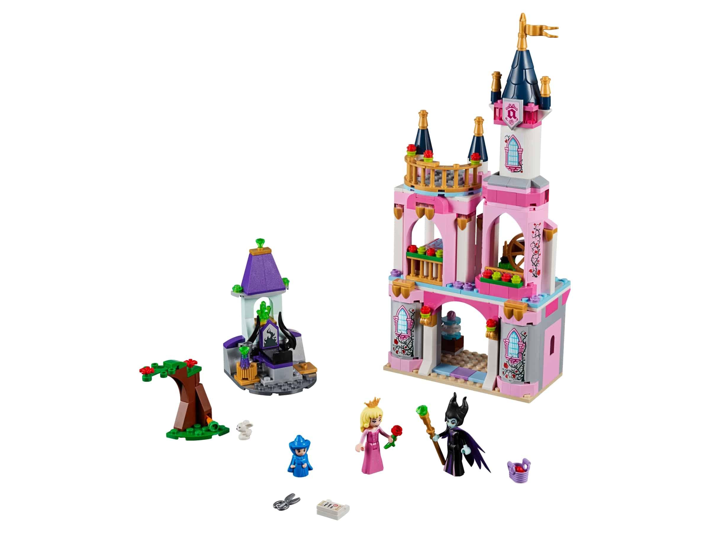 lego sprookjeskasteel van doornroosje 41152