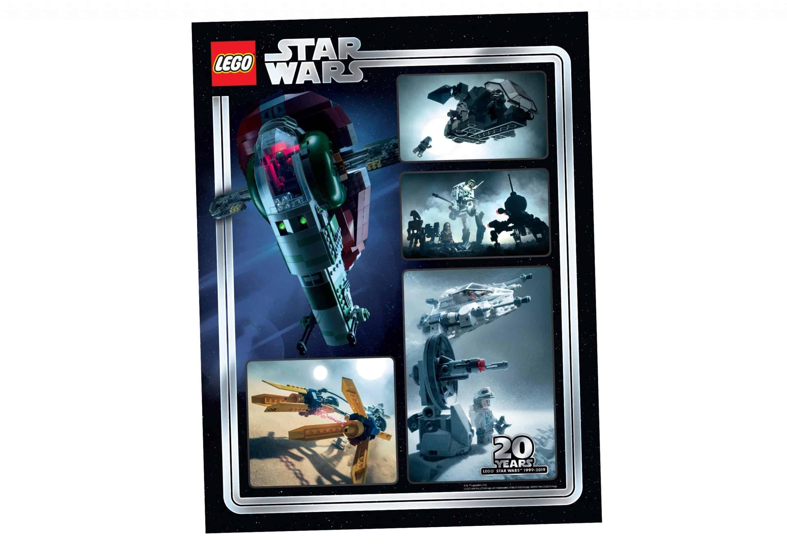 lego star wars poster om te verzamelen ter ere van het 20 jarig bestaan 5005888 scaled