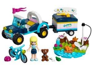 lego stephanies buggy en aanhanger 41364