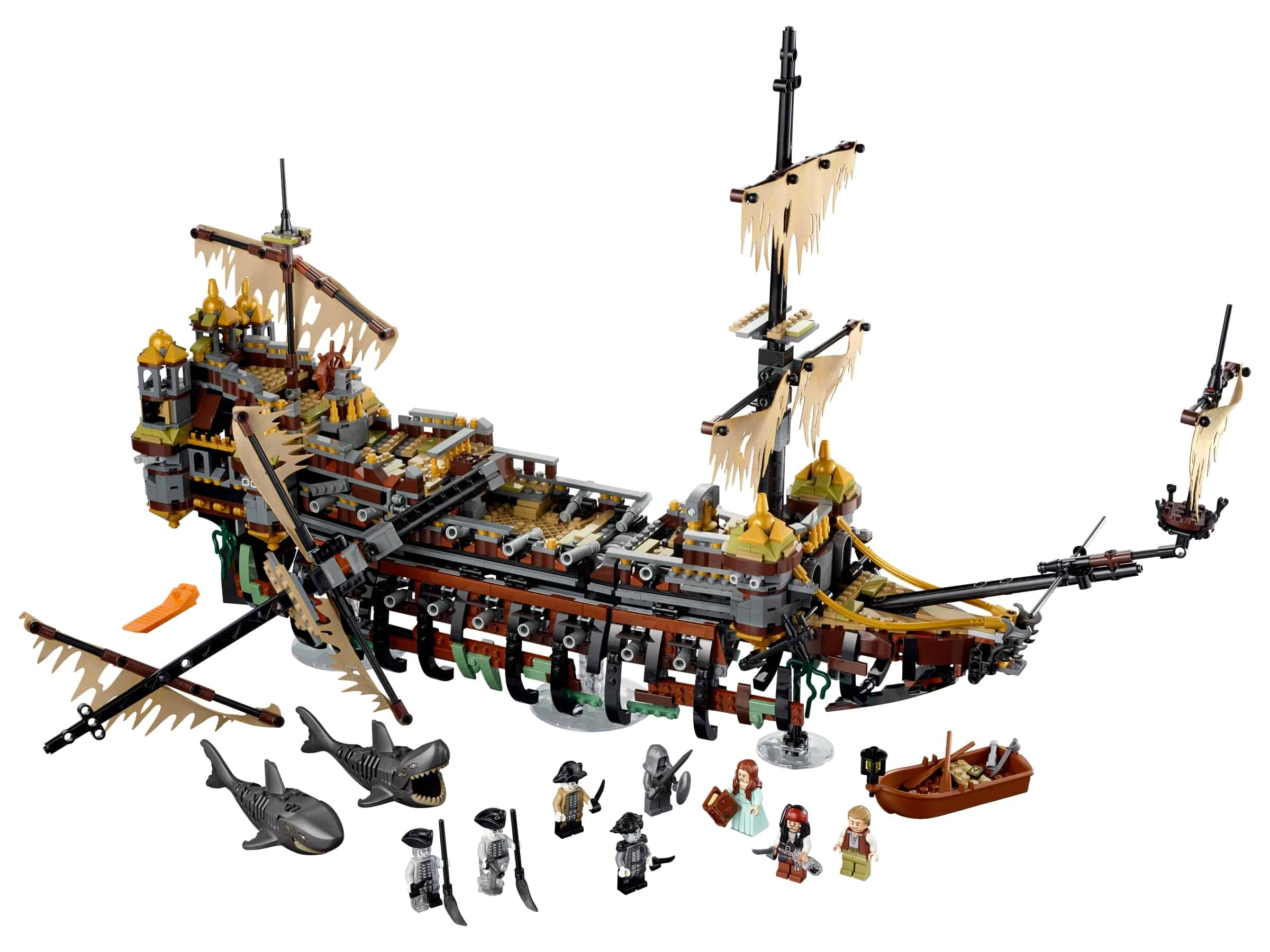 lego stille mary 71042