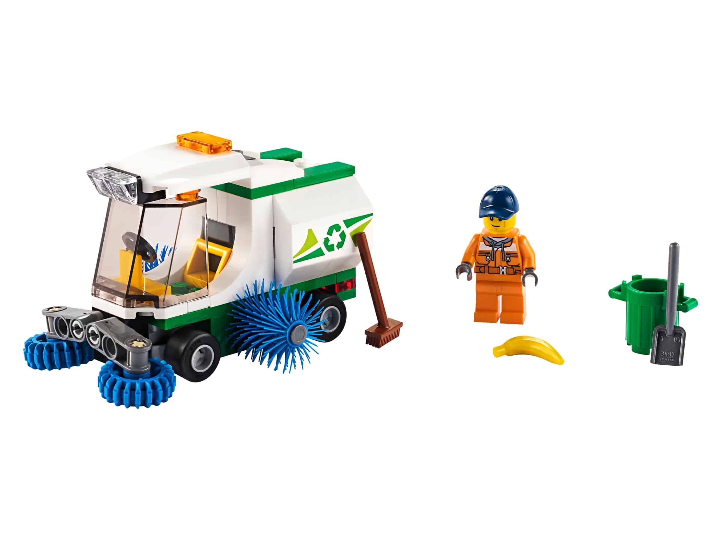 lego straatveegmachine 60249