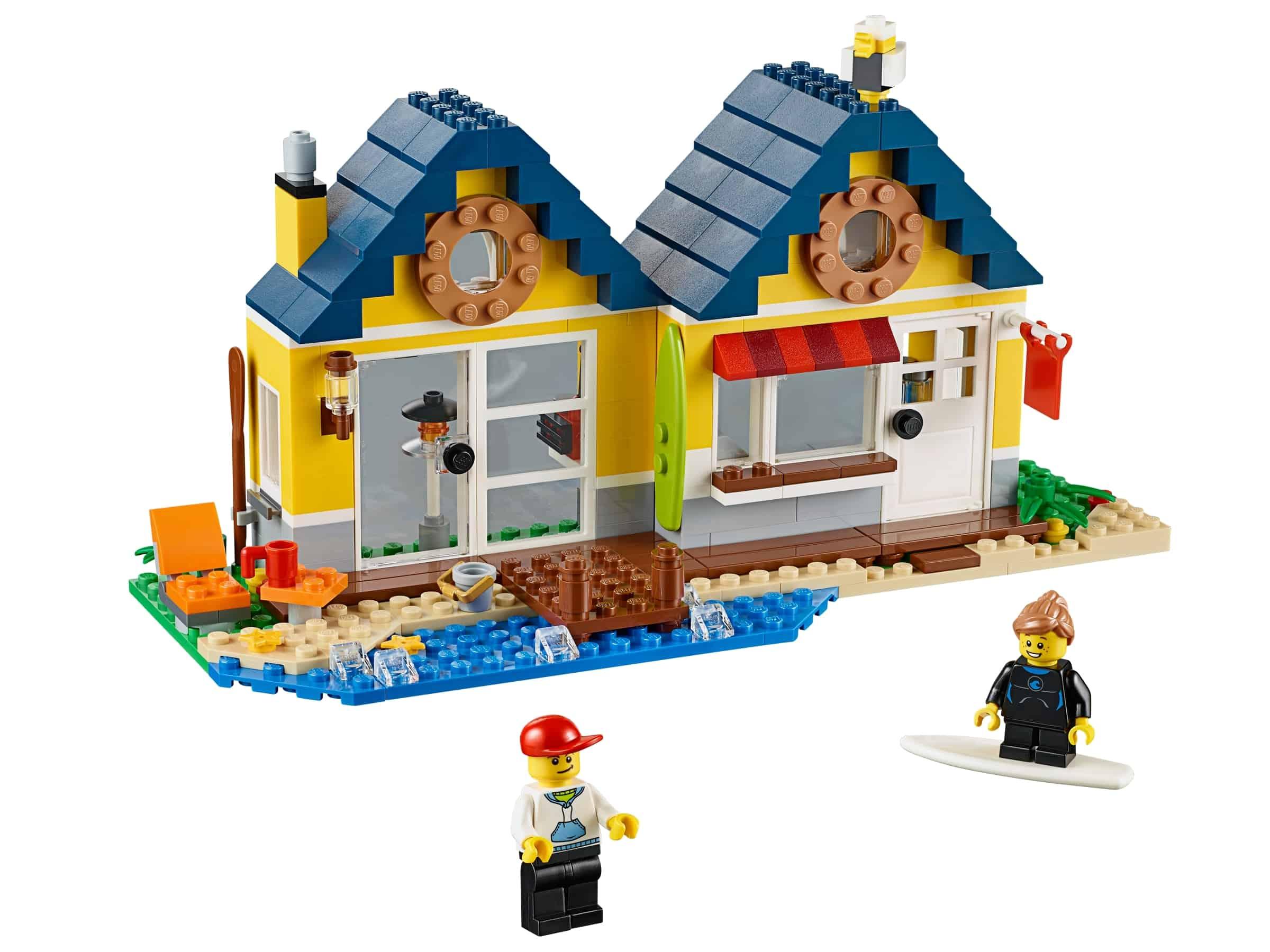 lego strandhut 31035
