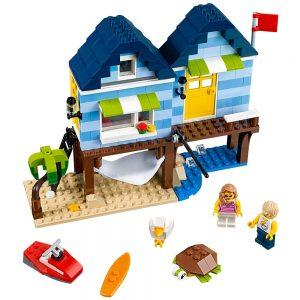 lego strandvakantie 31063