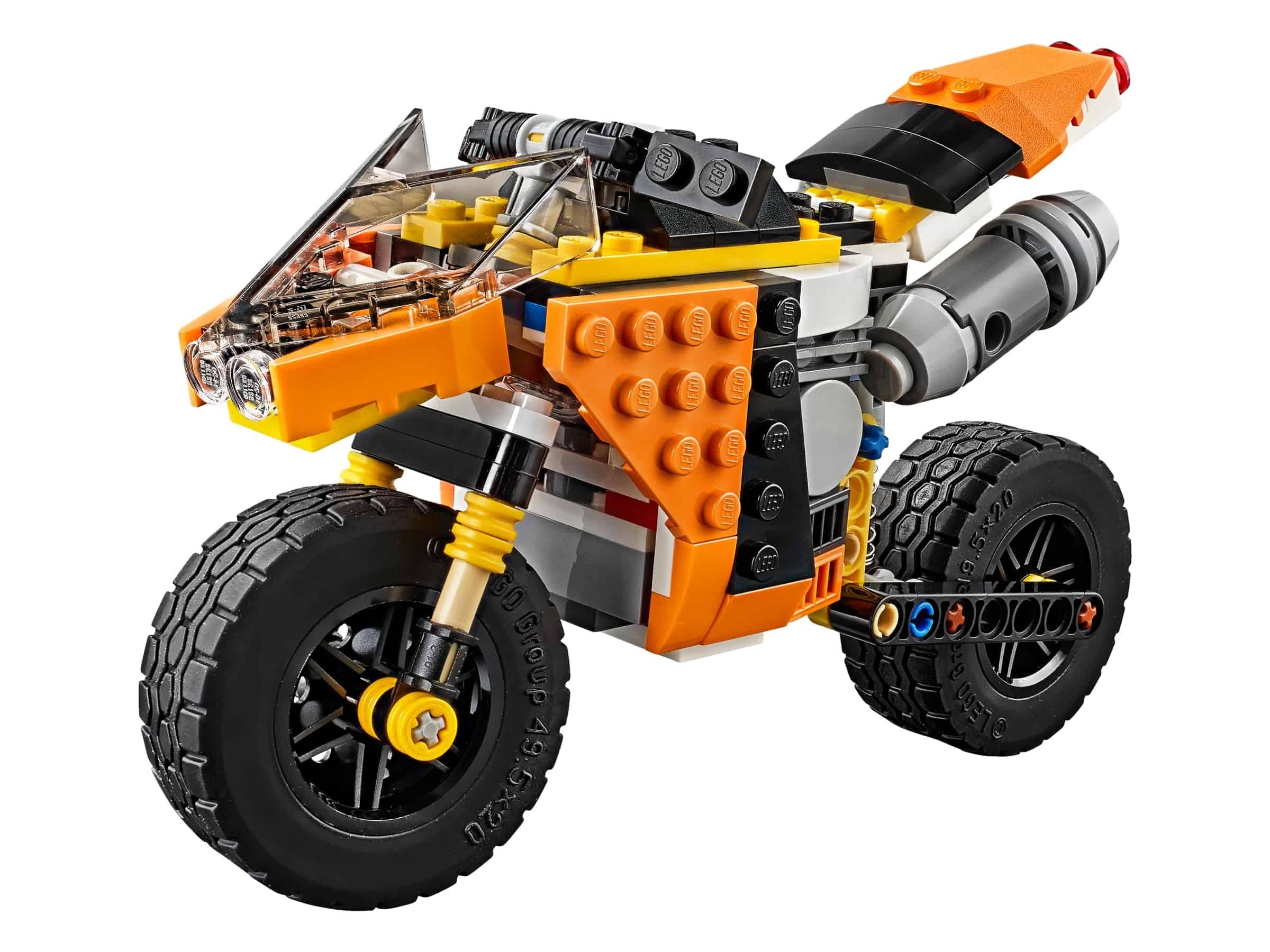 lego sunset straatmotor 31059