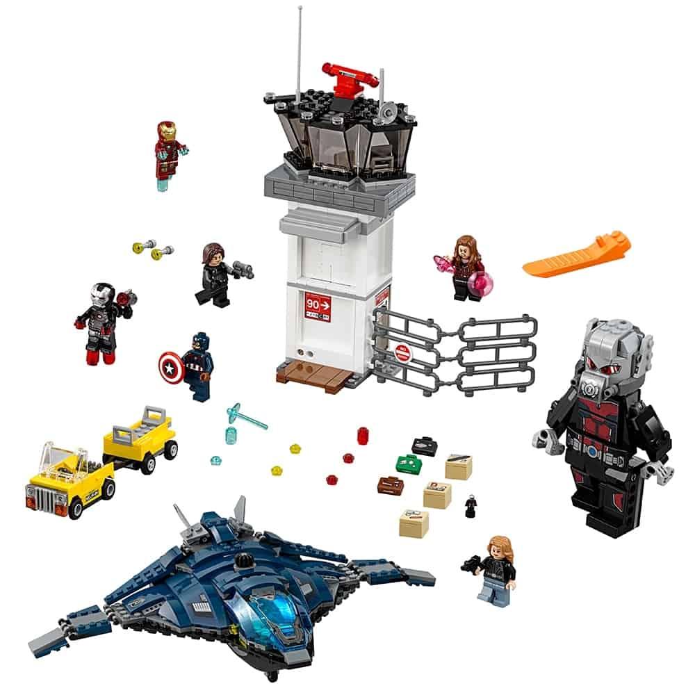 lego super hero vliegveldduel 76051
