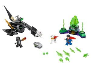 lego superman en krypto werken samen 76096
