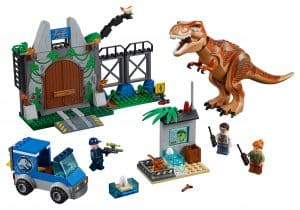 lego t rex ontsnapping 10758