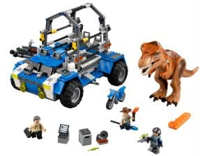 lego t rex tracker 75918