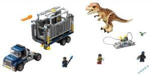 lego t rex transport 75933