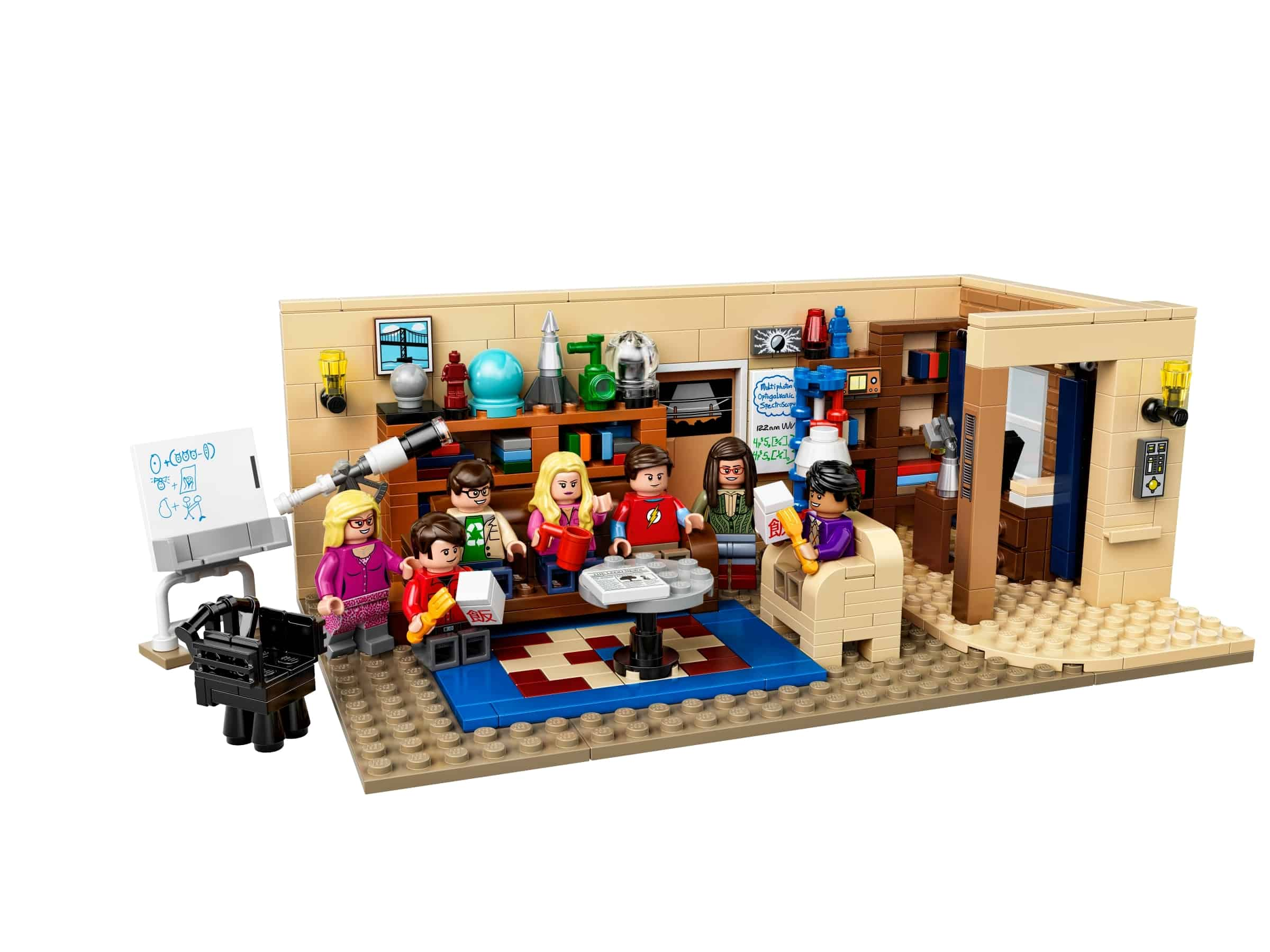 lego the big bang theory 21302