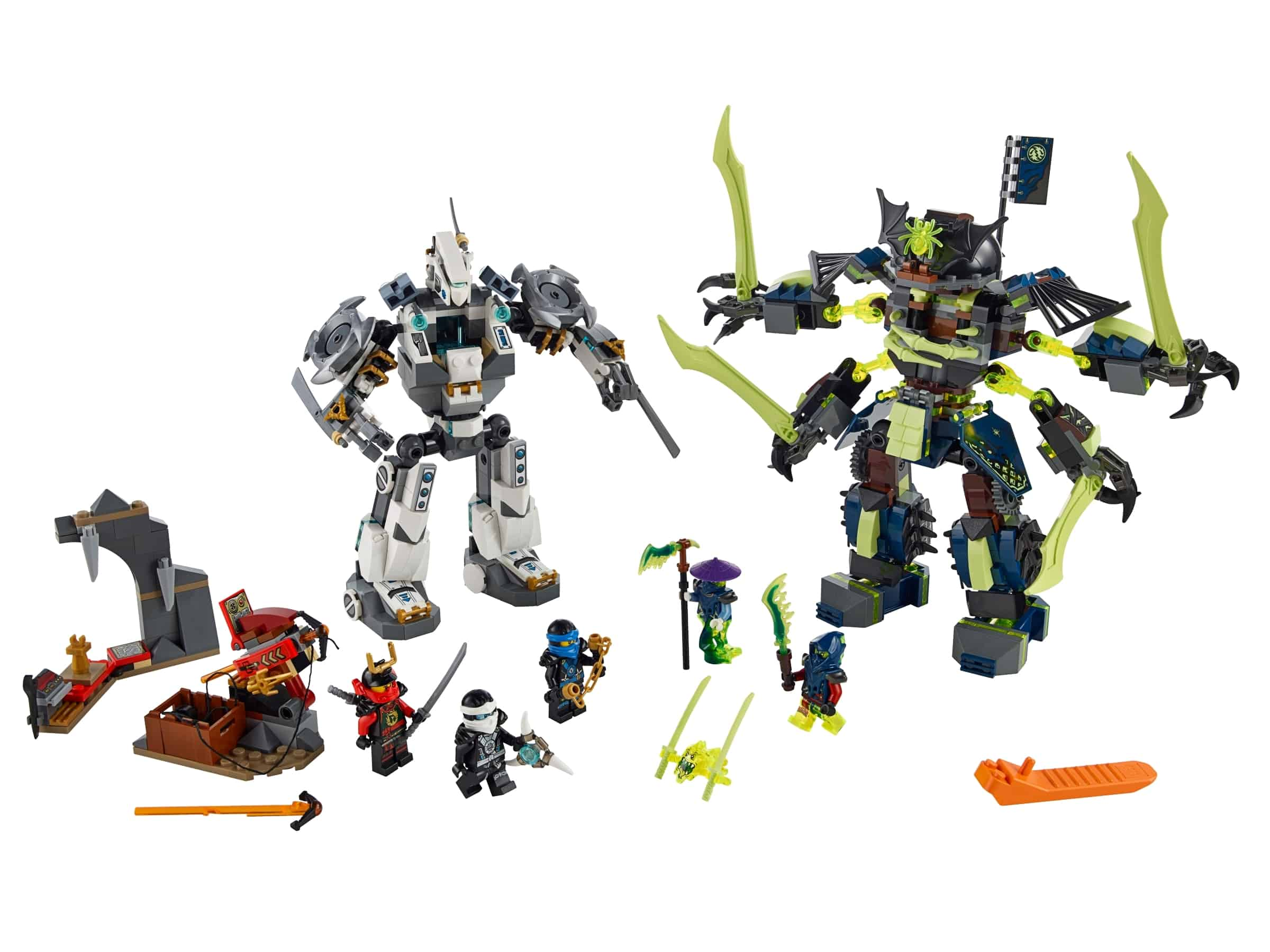 lego titanium mecha duel 70737