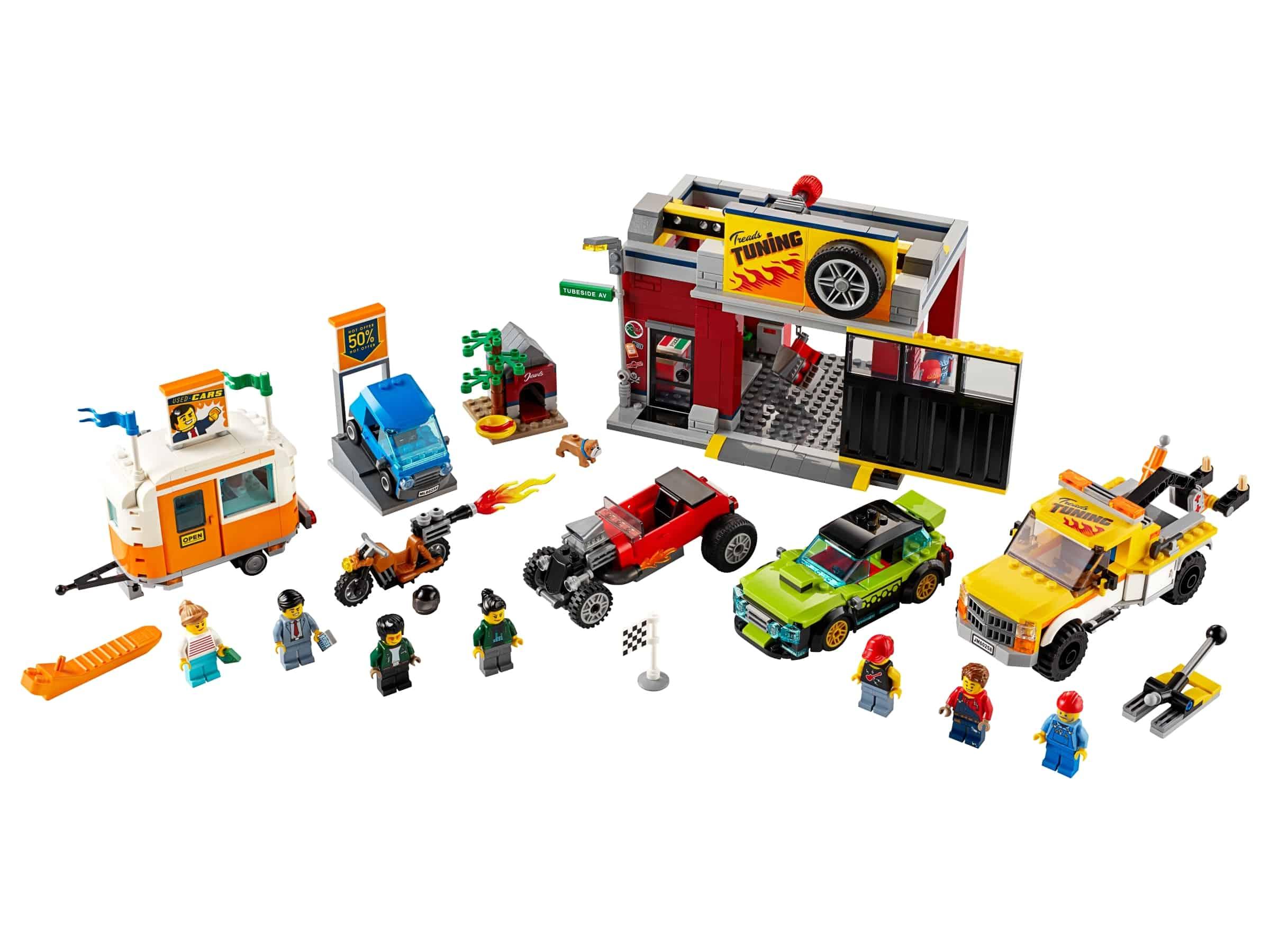 lego tuningworkshop 60258