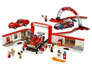 lego ultieme ferrari garage 75889