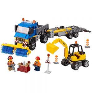 lego veeg en graafmachine 60152