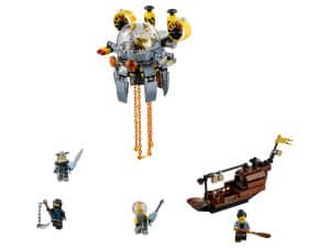 lego vliegende kwal duikboot 70610