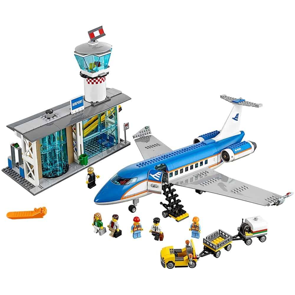 lego vliegveld passagiersterminal 60104