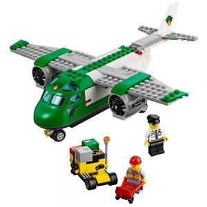 lego vliegveld vrachtvliegtuig 60101