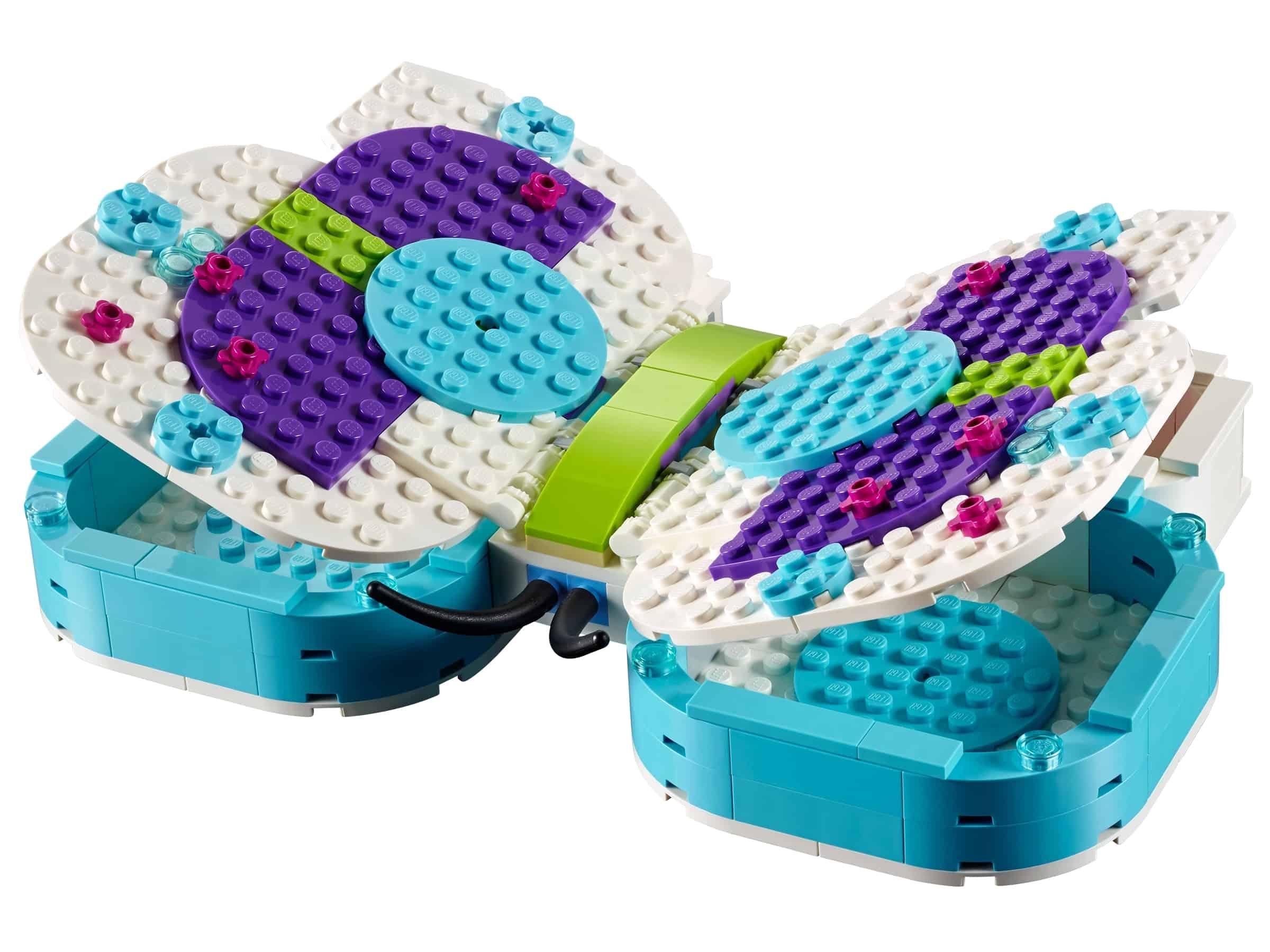 lego vlinder opbergkistje 40156