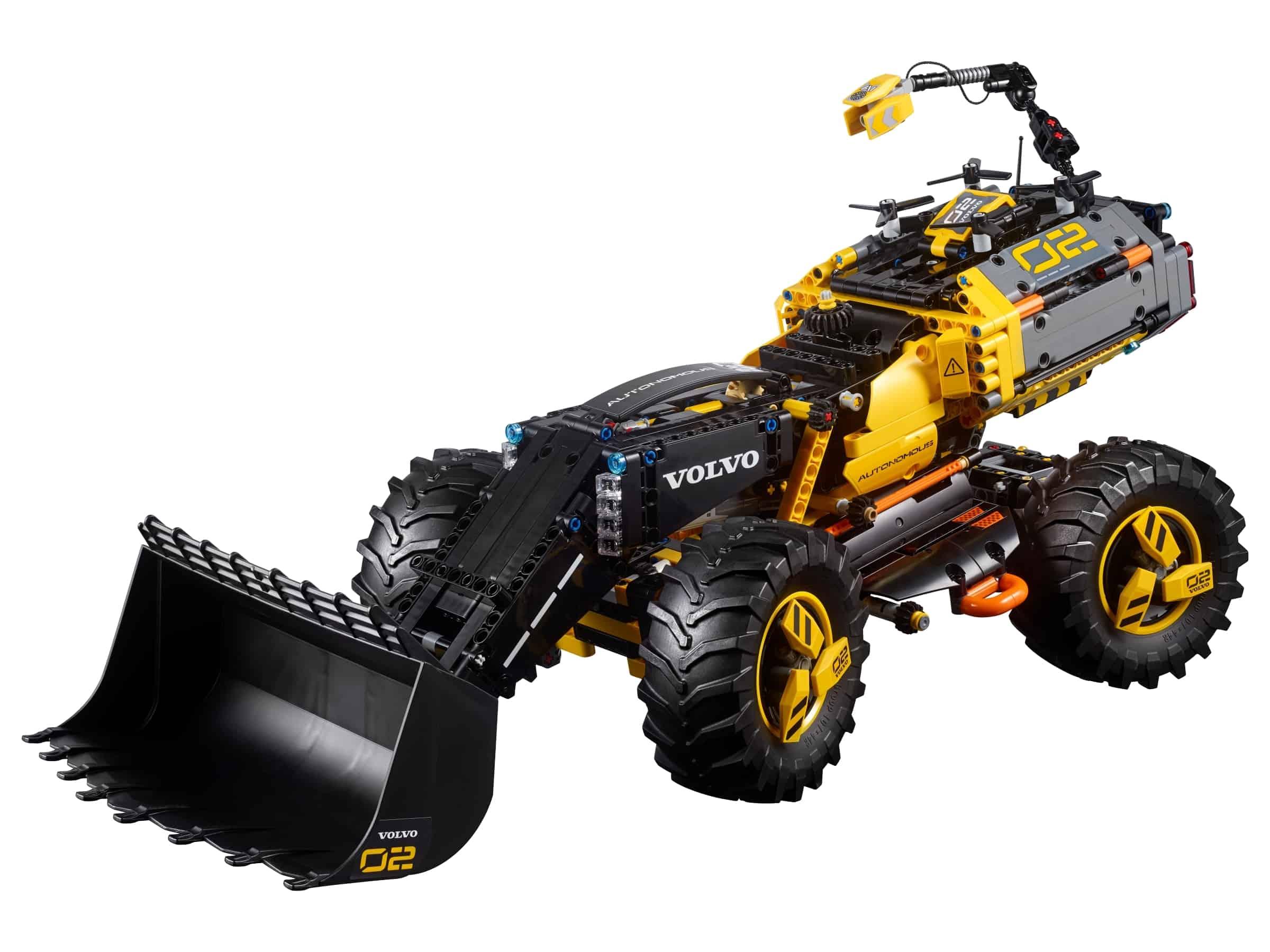 lego volvo concept wiellader zeux 42081