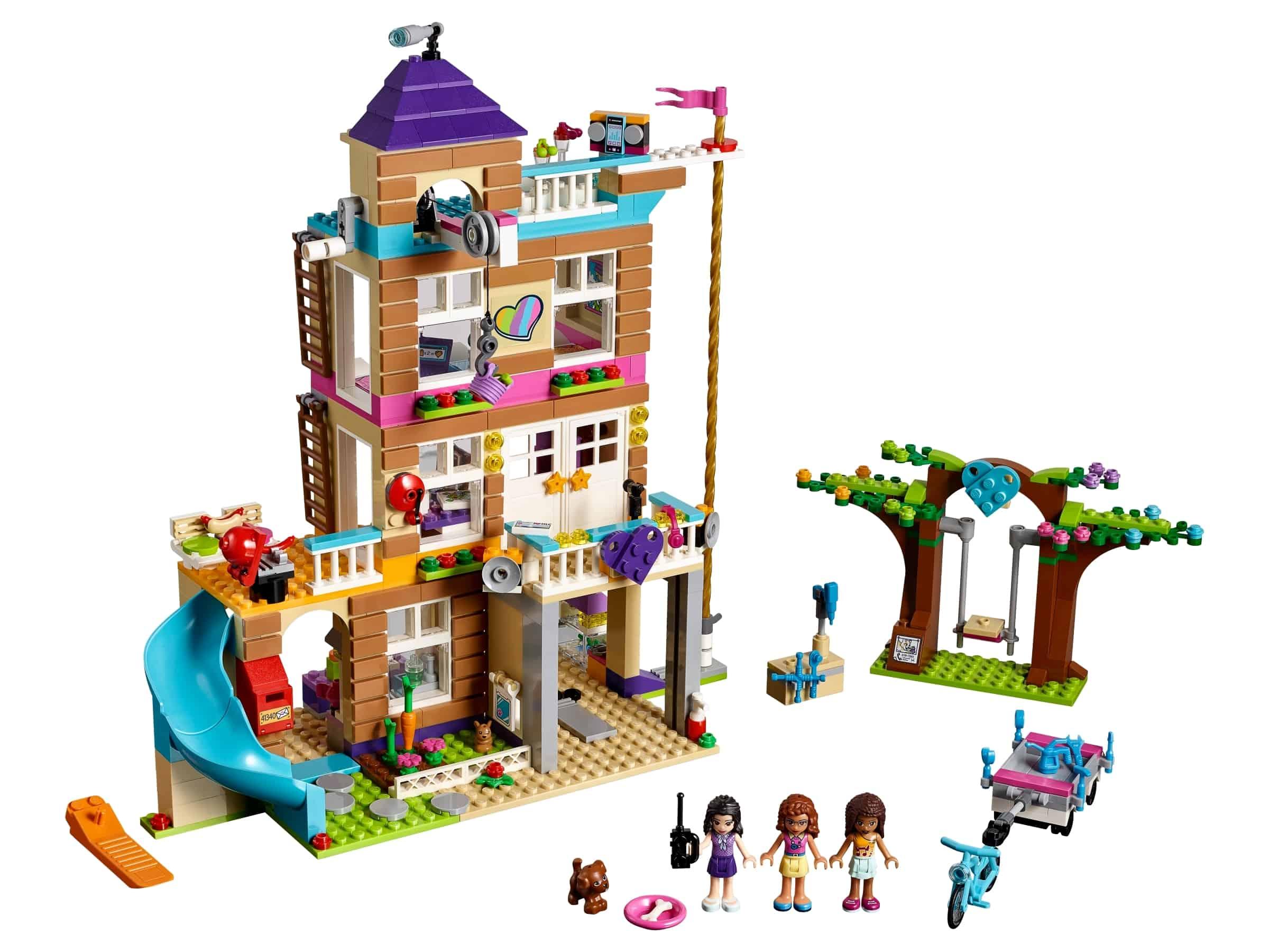 lego vriendschapshuis 41340