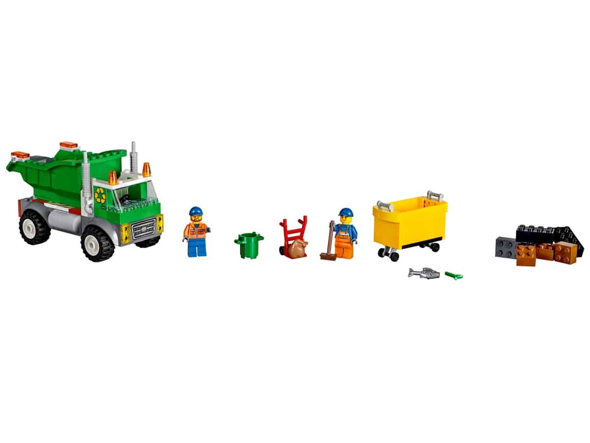 lego vuilniswagen 10680