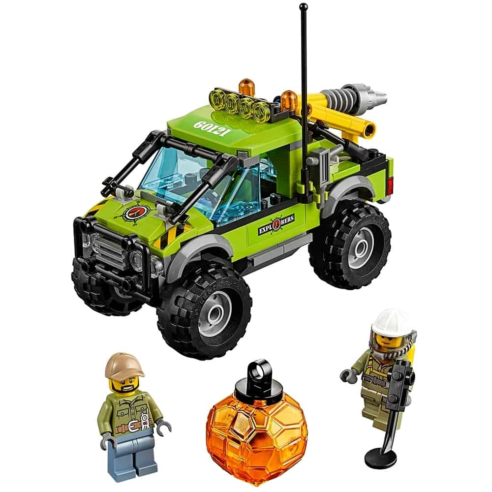 lego vulkaan onderzoekstruck 60121