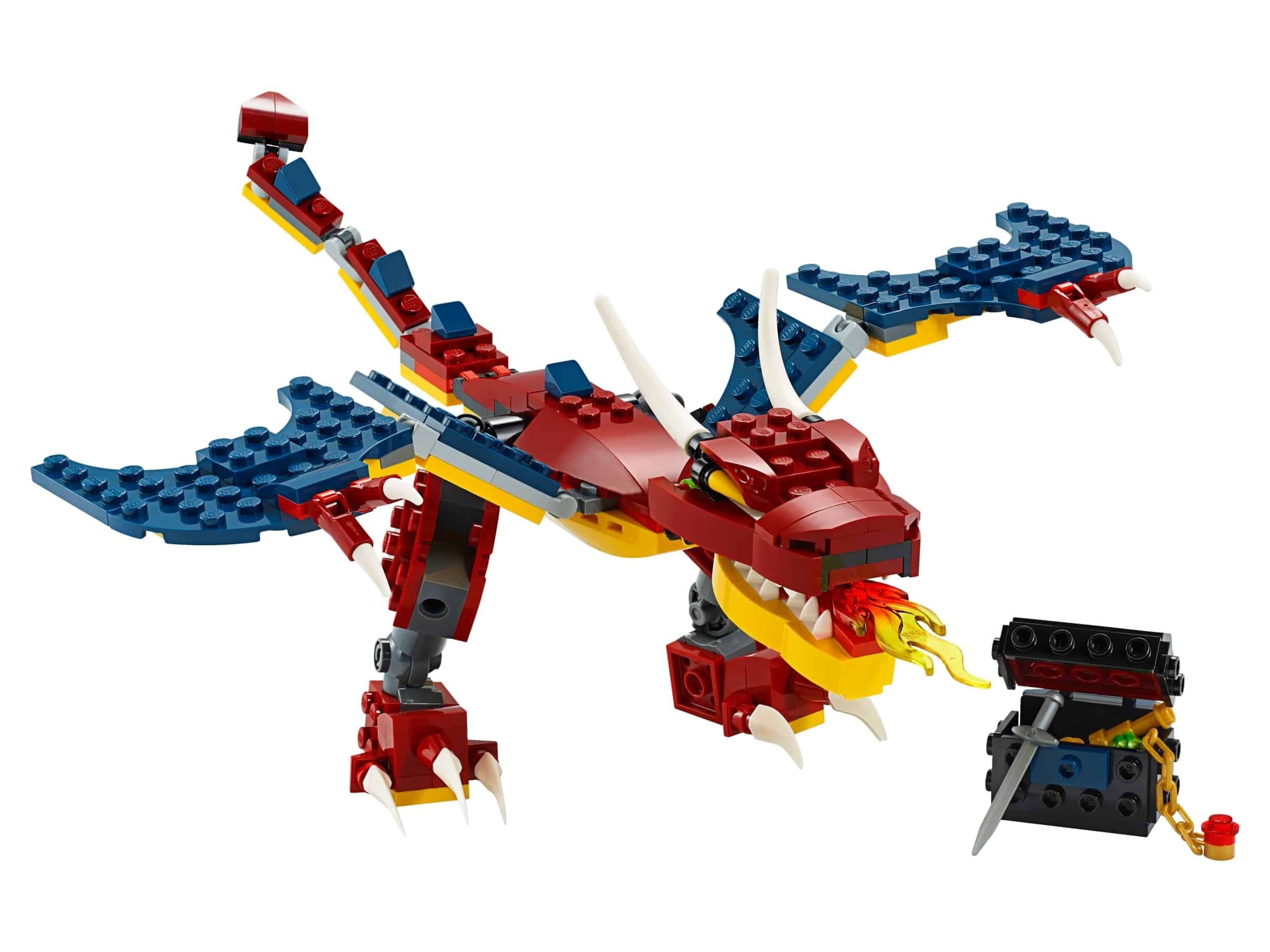 lego vuurdraak 31102