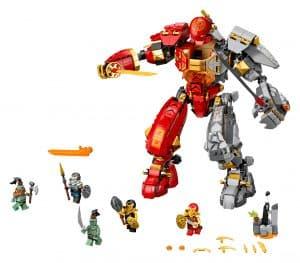 lego vuursteen robot 71720