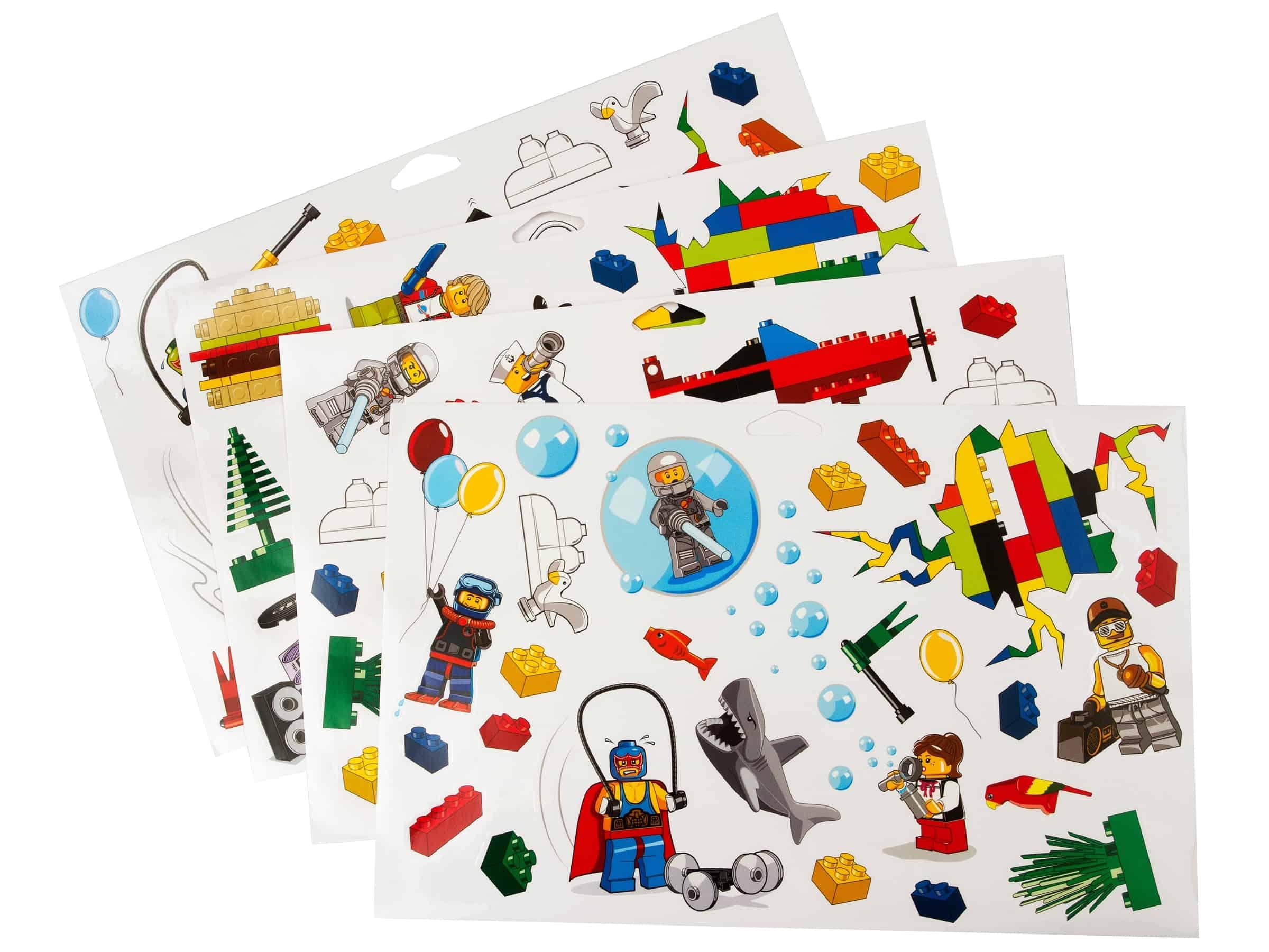 lego wandstickers 851402