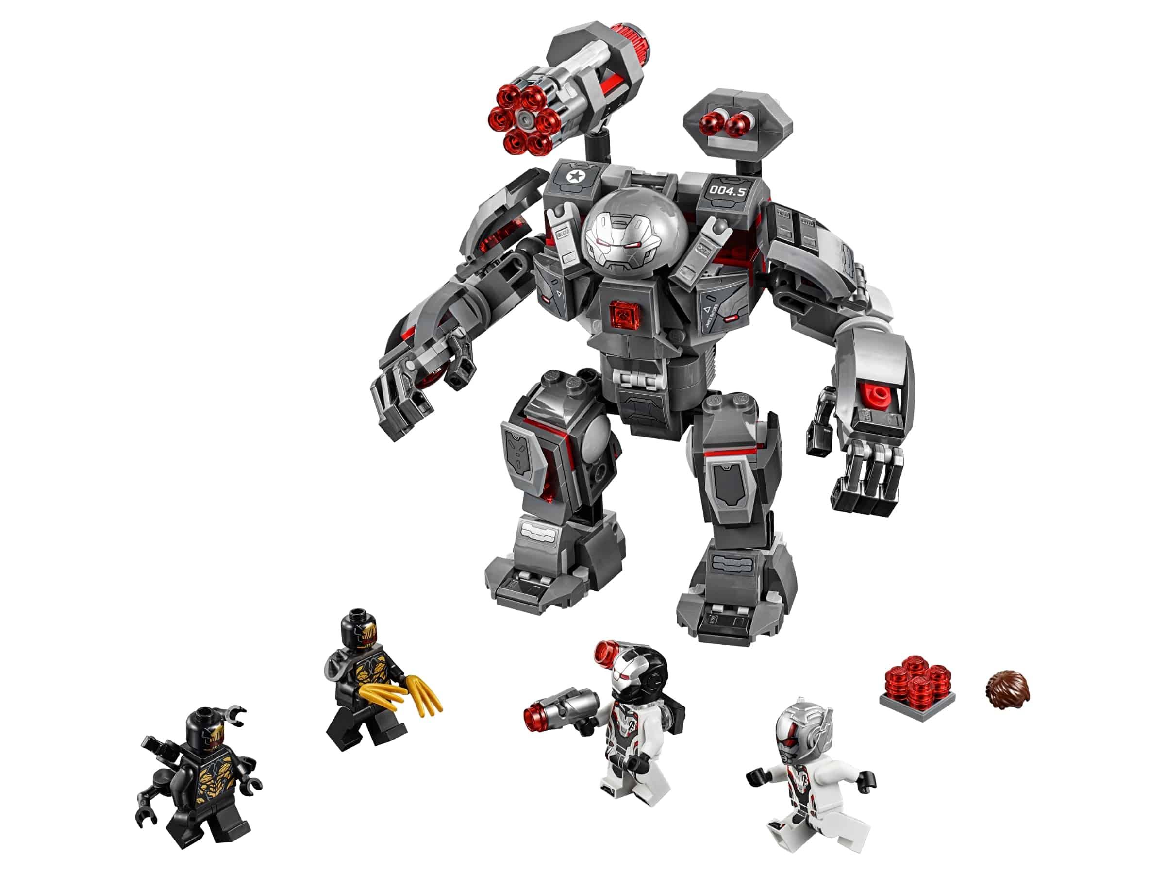 lego war machine buster 76124