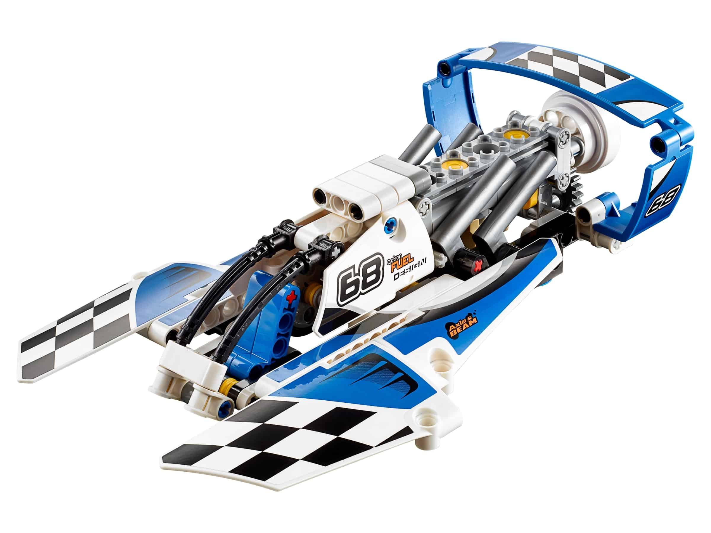 lego watervliegtuig racer 42045