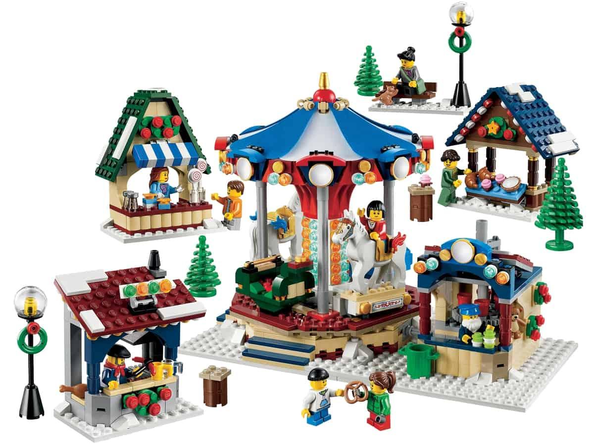 lego winter dorpsmarkt 10235