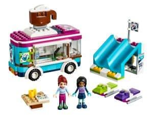 lego wintersport koek en zopiewagen 41319