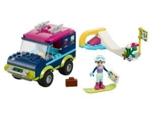 lego wintersport terreinwagen 41321