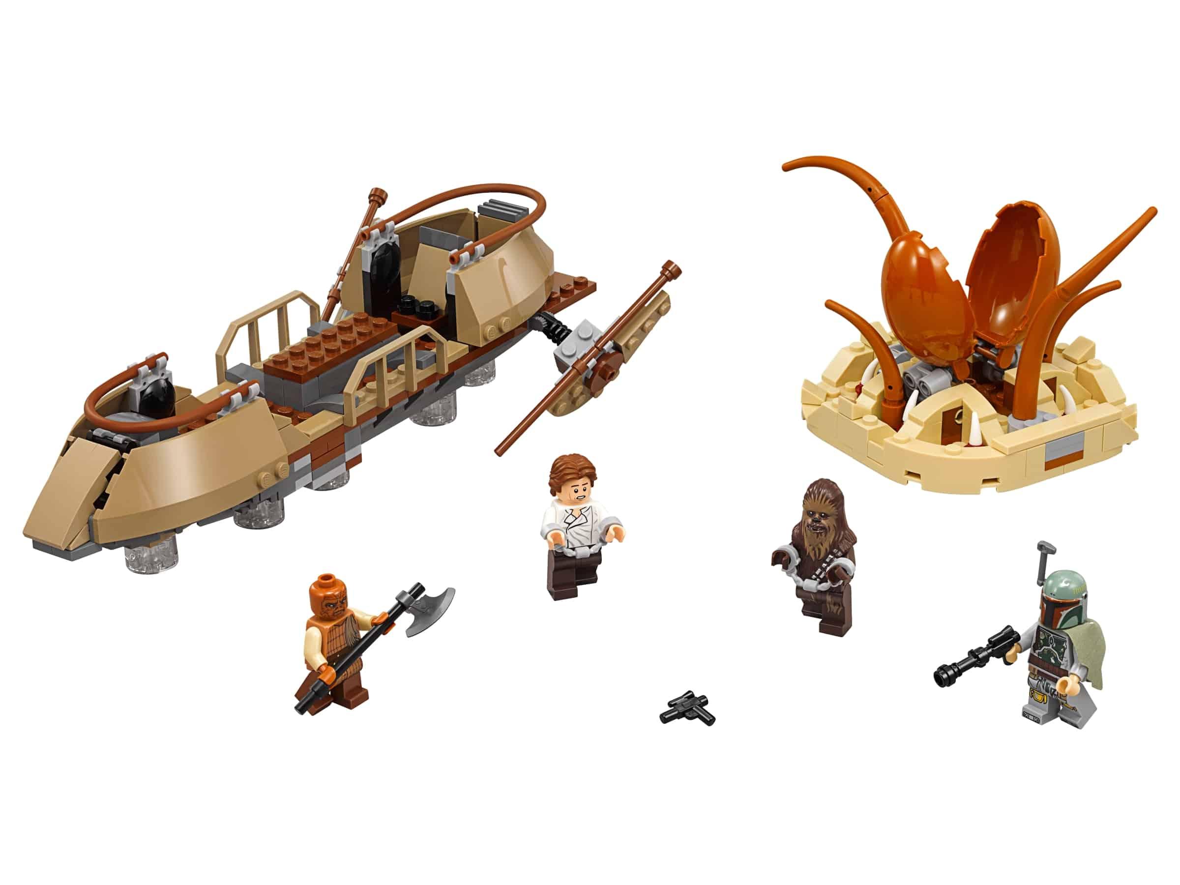 lego woestijnskiff ontsnapping 75174
