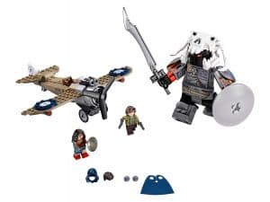 lego wonder woman krachtmeting 76075