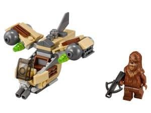 lego wookiee gunship 75129