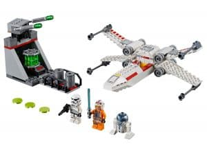 lego x wing starfighter trench run 75235