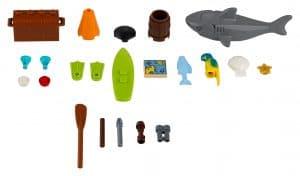 lego xtra zee accessoires 40341