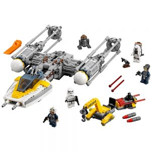 lego y wing starfighter 75172