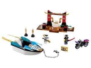 lego zanes ninjabootachtervolging 10755